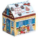 Wicklein Chocolate Gingerbread and Sprinkles in Winter House Box 7.0 oz.