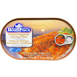 Ruegenfisch Smoked Herring Fillets with Peppercorns  7 oz.