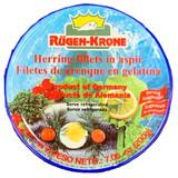 Ruegenfisch Herring Fillet in Aspic 7.1 oz.