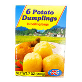 Dr. Knoll Bavarian Potato Dumplings Boil Half and Half in Bag 6 ct. 7 oz.