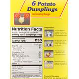 Dr. Knoll Bavarian Potato Dumplings Boil Half and Half in Bag 6 ct. 7 oz.