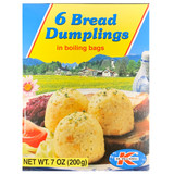 Dr. Knoll Bavarian Bread Dumplings Boil in Bag 6 ct. 7 oz.