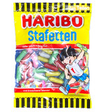 Haribo Stafetten Candy Coated Licorice Sticks 7 oz