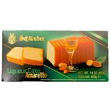 Schluender Amaretto Liqueur Cake 14 oz.