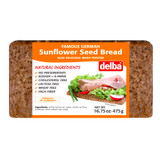 Delba Sunflower Seed Whole Grain Bread 16.5 oz