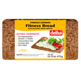 Delba Fitness Whole Grain Bread 16.5 oz