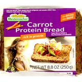 Mestemacher Carrot Protein Whole Grain Bread 8.8 oz