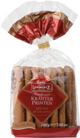 """Lambertz Aachen """"Kraeuter Printen"""" Spiced Lebkuchen in Bag"""