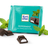 Ritter Dark Chocolate with Peppermint Bar 3.5 oz