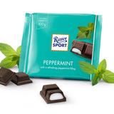 Ritter Dark Chocolate with Peppermint Bar 3.5 oz