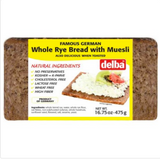 Delba Muesli Whole Grain Bread 16.5 oz