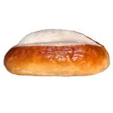 The Taste of Germany Pretzel Rolls for Sausages, oval, 5 oz, 10 pc. handmade, frozen