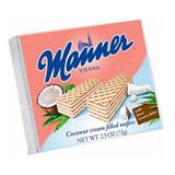 Manner Austrian Coconut Cream Wafers 2.54 oz.