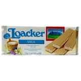 Loacker Milk Cream Wafers, 6.2 oz.