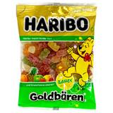 Haribo Gold Sour Gummy  Bears in bag 7 oz.