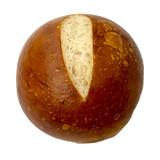 The Taste of Germany Bavarian Pretzel Hamburger Buns, round, 5 oz, 10 pc. handmade, frozen