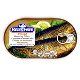 Ruegenfisch Smoked Herring in Vegetable Oil and Own Juices