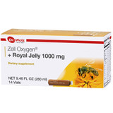 Dr. Wolz Zell Oxygen Enzyme Yeast + 1000mg Royal Jelly, Dietary Supplement, 14 vials x 20 ml