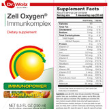 Dr. Wolz Zell Oxygen Immunkomplex, BioActive Yeast Enzyme Concentrate, Dietary Supplement, 8.5 oz