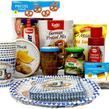 The Taste of Germany Oktoberfest Party Box for 4, with orginial German-made sausages, non-perishable, 10 lbs.