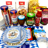 The Taste of Germany Oktoberfest Party Box for 8, with orginial German-made sausages, non-perishable, 17 lbs.