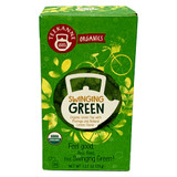 "Teekanne Organic Green Tea Mix ""Swinging,""  20 bags"