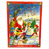 Windel Traditional Advent Calendar with 2 Assorted Designs, 1.76 oz