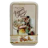 Vergani Italian Nougat Bars with Roasted Almonds in Vintage Tin, 3.53 oz