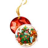 Niederegger Christmas Ornament Tin with Marzipan Stars 1.3 oz