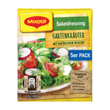 Maggi German Salad Seasonings with Garden Herbs, 5 packs, 1.4 oz