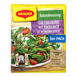 Maggi German Salad Seasonings with Garlic, 5 packs, 1.4 oz