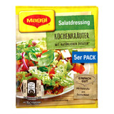 Maggi German Salad Seasonings with Kitchen Herbs, 5 sachets, 1.4 oz