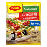 Maggi German Salad Seasonings with Italian Herbs,  5 packs, 1.4 oz