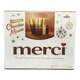 Merci Finest European Mousse Chocolate Variety in holiday gift pack, 7 oz