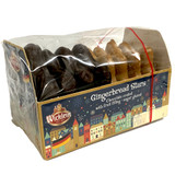 Wicklein Gingerbread Stars, Glazed and Chocolate Covered, with Fruit Filling, 6.2 oz.