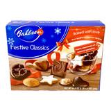 """Bahlsen """"Festive Classic"""" Premium Christmas Cookie Assortment, 17.6 oz"""
