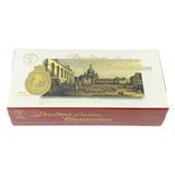 Kreutzkamm Original Dresdner Christ Stollen in red gift box, 24.3 oz (750g)