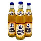 Club Mate Energy Soft Drink with Yerba Mate Tea, 3 bottles, 16.9 oz per bottle