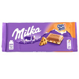 Milka Chips Ahoy Cookie Crumble Milk Chocolate Bar 3.5 oz.