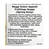 Maggi Spring Soup (Fruehlings Suppe) Mix 2.5 oz