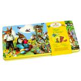 Heidel  Fine Milk Chocolate Bars in Nostalgic Easter Bunny Design Gift Tin, 4.2 oz