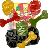"""Mr Candy Baker Make Your Own Pirate """"Skulls and Bones"""" Gummies"""