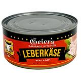 Geiers Leberkaese Sausage in Tin 6.5 oz.