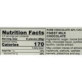 "Niederegger ""Pure "" Premium German Milk Chocolate, 42% cocoa, 3.5 oz"