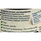 """Schwartau """"Kirsch Gruetze"""" Red and Black Cherry Dessert, 17.6 oz"""