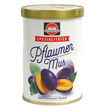 Schwartau Holstein Premium Plum Butter in tin, 12.3 oz