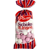 Piasten Chocolate Dragees with Peppermint Sugar Coating, 8.8 oz