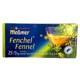 Messmer German Fennel Tea, 25 ct., 2.6 oz