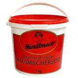 Haendlmaier Sweet Bavarian Mustard, in tub, 11bs.