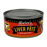Geiers Pork Liver Goose Pate in Tin 6.5 oz.